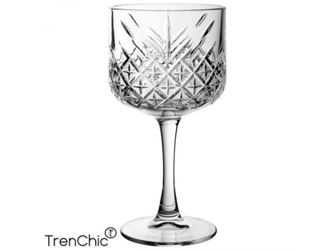 Trendy gin tonic glas, Timeless collection, glazen, high quality glazen, timeless glazen, trenchic, trendy glazen, chic glazen, trenchic glazen, gin, tonic, gin tonic glazen