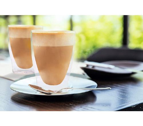 Dubbelwandige glazen, dubbelwandig glas, dubbelwandige theeglazen, dubbelwandige koffie glazen, dubbelwandig,thermoglas, glas 310ml,1