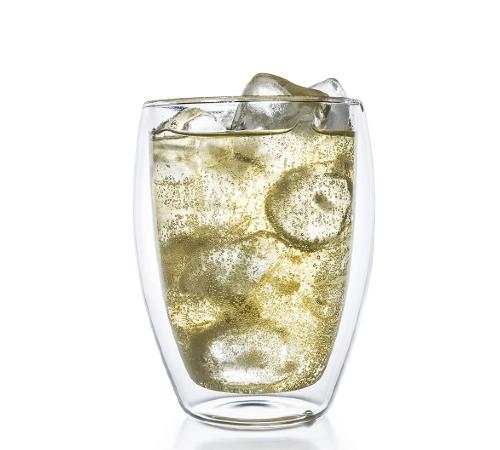 Dubbelwandige glazen, dubbelwandig glas, dubbelwandige theeglazen, dubbelwandige koffie glazen, dubbelwandig,thermoglas, glas 400ml
