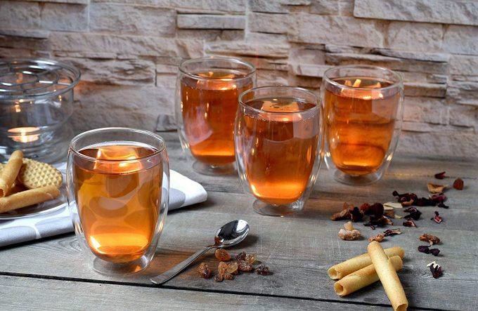 Dubbelwandige glazen, dubbelwandig glas, dubbelwandige theeglazen, dubbelwandige koffie glazen, dubbelwandig,thermoglas, theeglas 400ml