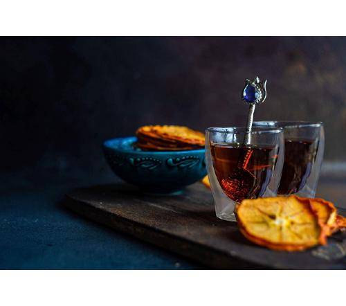 Dubbelwandige glazen, dubbelwandig glas, dubbelwandige theeglazen, dubbelwandige koffie glazen