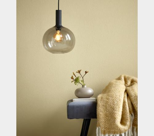 Alton 47313047, Alton 25 Gerookt Hanglamp Zwart E27, moderne hanglamp glas nordlux, trenchic hanglampen