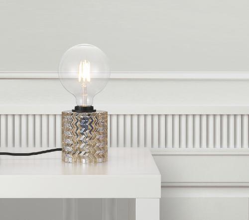 Hollywood 46645027, Hollywood Tafellamp Oranje E27, trendy moderne tafellamp nordlux glas amber, trenchic tafellampen