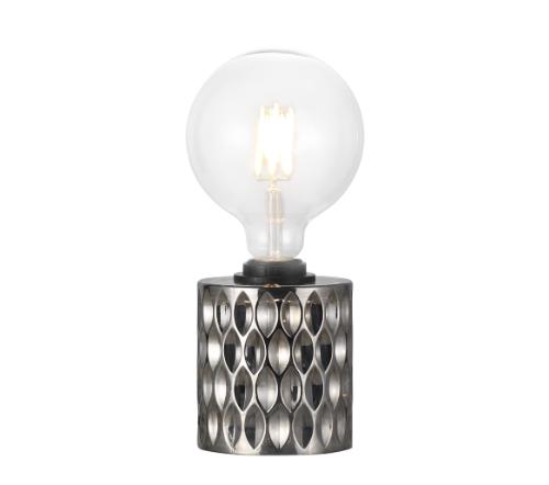 Hollywood 46645047, Hollywood Tafellamp Gerookt E27, trendy moderne tafellamp nordlux glas smoked