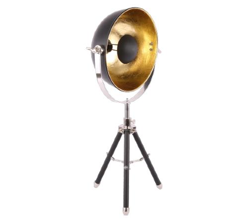 Tafellamp 'Buk', industrial lamp, industriele lamp, industriele lamp wit, industrial lamp goud, moderne tafellamp