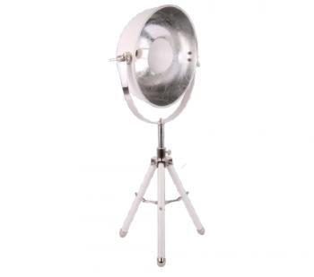 Tafellamp 'Buk', industrial lamp, industriele lamp, industriele lamp wit, industrial lamp wit, moderne tafellamp