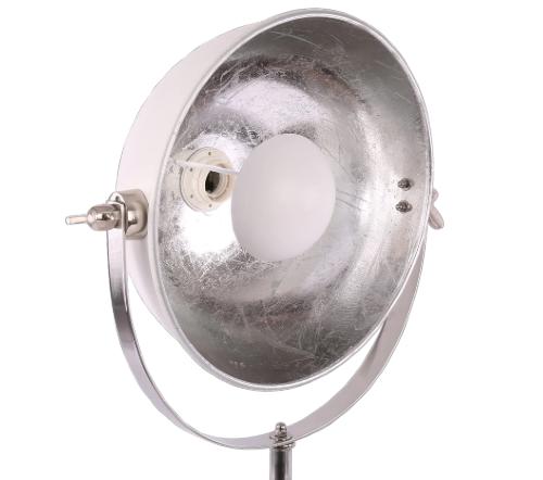 Tafellamp 'Buk', industrial lamp, industriele lamp, industriele lamp wit, industrial lamp wit, moderne tafellamp, trenchic