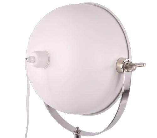Tafellamp 'Buk', industrial lamp, industriele lamp, industriele lamp wit, industrial lamp wit, moderne tafellamp, trendy lampen
