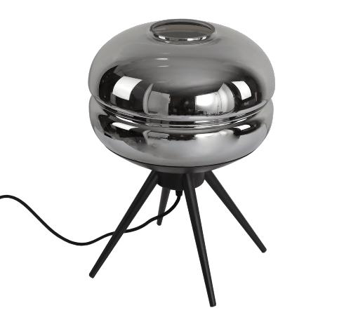 Tafellamp 'Fumer', moderne lamp, moderne tafellamp, trendy tafellamp, tafellamp zwart, moderne tafellamp zwart, trenchic