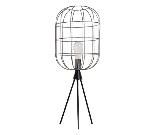 Tafellamp 'Rom', industriele lamp, industrial lamp, industriele lamp tripod, moderne lamp, trendy lamp