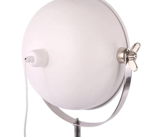 Tafellamp 'buk', industriele tafellamp, industrial table lamp, industriele lamp, industriele lamp goud met wit, moderne lamp, tafellamp goud