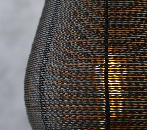 Tafellamp 'Safari', jungle mush collectie, moderne tafellamp zwart goud, trendy tafellamp, trenchic jungle mush collectie