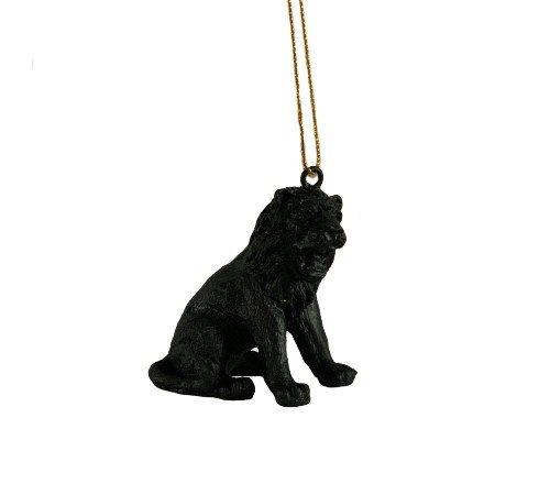 Kersthanger 'Lion', trendy kersthanger lion, speciale kersthangers, zwarte kersthangers, 201220-Jungle