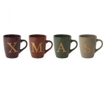 Mokken 'XMAS', kerstmokken, kerstmis mokken, mokken voor de kerst, hippe mokken, 09170100-Pros