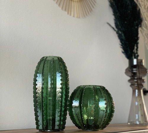 Tafellamp 'Cactus', trendy tafellamp op batterijen, tafellamp groen, Junglemush, 647090-Jungle, 2