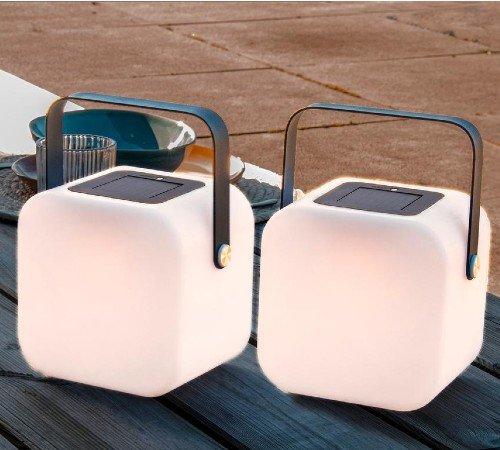 Tafellamp 'Solar', trendy tafellamp voor buiten, buitenlamp zonder snoer, trenchic, junglemush, solar lamp, PP-04320680, 3