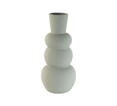Vaas 'Dolomite', trendy vaas, moderne vaas, blauw grijze vaas, vaas van steen, trenchic, junglemush, 04312530-Jungle