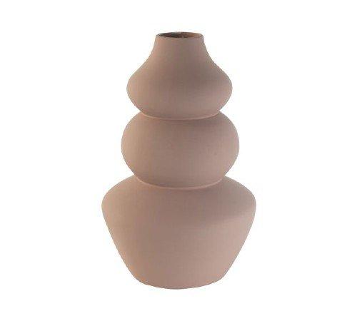Vaas 'Dolomite', trendy vaas, moderne vaas, oud roze vaas, vaas van steen, trenchic, junglemush, 04312520-Jungle