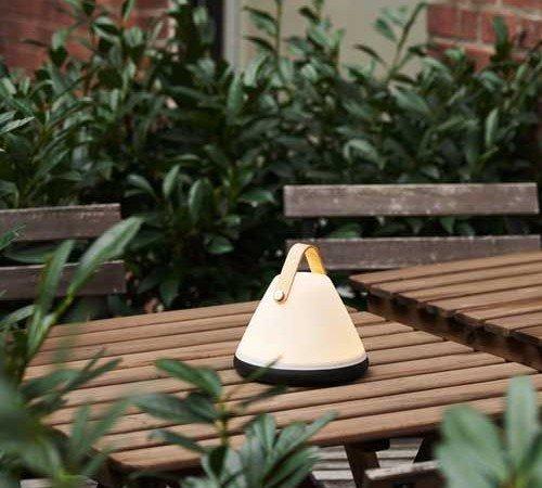 Tafellamp 'Nordlux Strap to-go', trendy tafellamp op accu, dimbare tafellamp, portable tafellamp, moderne buiten lamp, 46195001-Nordlux, trenchic, 3
