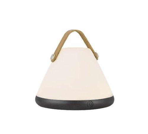 Tafellamp 'Nordlux Strap to-go', trendy tafellamp op accu, dimbare tafellamp, portable tafellamp, moderne buiten lamp, 46195001-Nordlux, trenchic